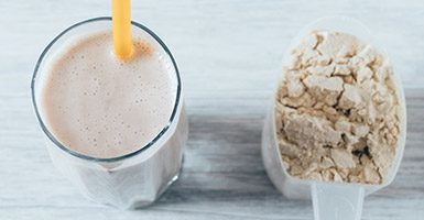 Meal Replacement Shakes Helps In Trying To Build Muscle